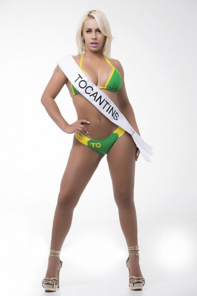 Caiu Na Net Video Porno da  Debora Dunhill Miss Bumbum 2015