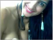 Baianinha Morena na cam mostrando a ppka