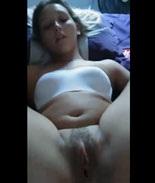 Sexo amador com a namorada loira novinha vazou online
