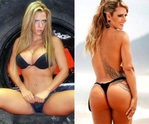Denise Rocha pelada em videos da playboy
